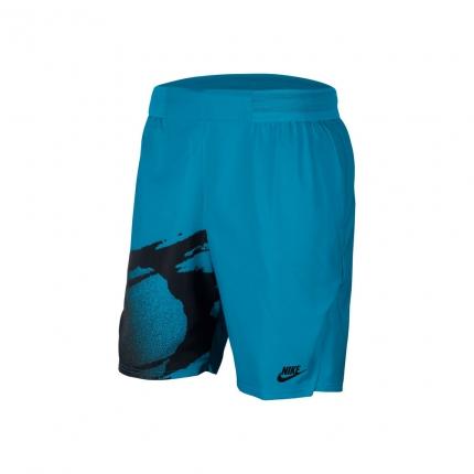 Pánské tenisové kraťasy Nike Court Slam Shorts, turq