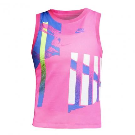 Dámské tenisové tílko Nike Court Slam Tank-Top, pink