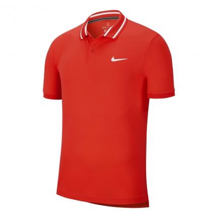 Pánské tenisové tričko Nike Court Dri-Fit Polo, red