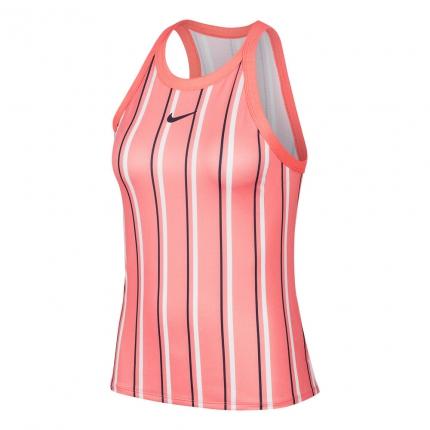 Tenis - Dámské tenisové tílko Nike Court Dri-Fit Tank-Top, coral