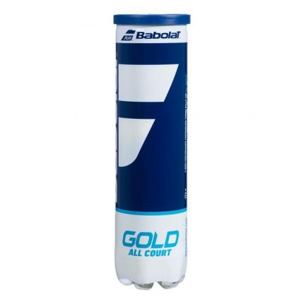 Tenisové míče Babolat Gold All Court, 4 ks