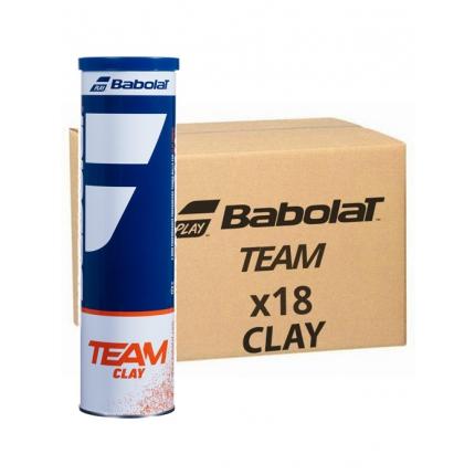 Tenisové míče Babolat Team Clay, 72 ks