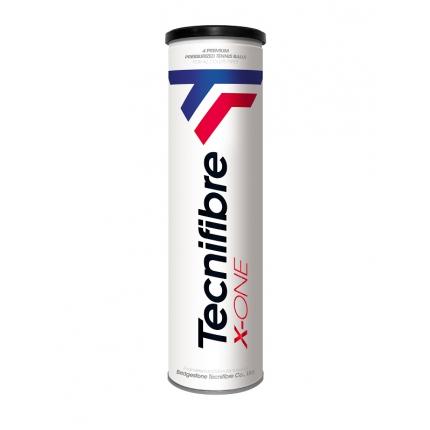 Tenisové míče Tecnifibre X-One, 4 ks