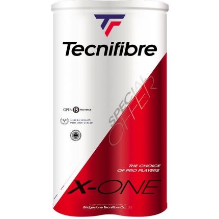 Tenis - Tenisové míče Tecnifibre X-One Bipack, 8 ks