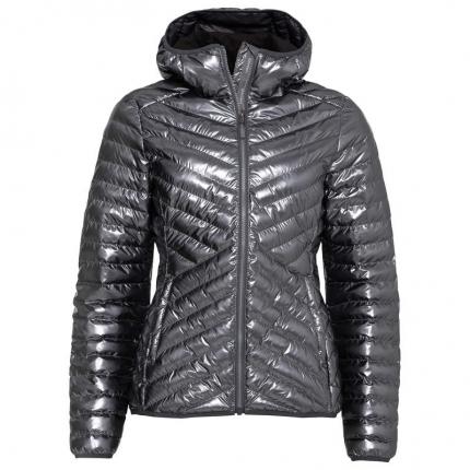 Dámská lyžařská bunda Head Prima Hooded Jacket 2020/21, metallic anthracite