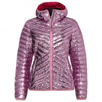 Dámská lyžařská bunda Head Prima Hooded Jacket 2020/21, metallic pink