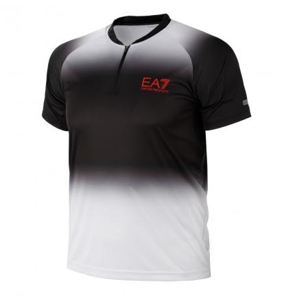 Pánské tenisové tričko Emporio Armani SB T-Shirt, white/black
