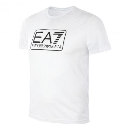 Pánské tenisové tričko Emporio Armani R4 T-Shirt, white