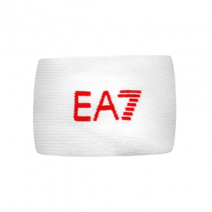 Potítka Emporio Armani, white/racing red log