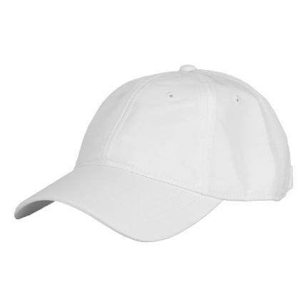 Kšiltovka Lacoste Cap, blanc