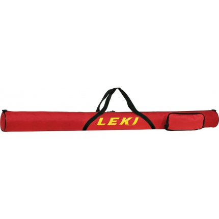 Vak na lyžařské hole Leki Pole Bag 140 cm, red