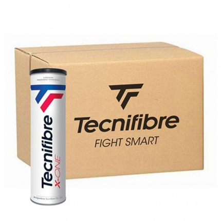 Tenisové míče Tecnifibre X-One, 72 ks