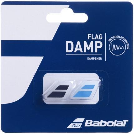 Tenisové vibrastopy Babolat Flag Damp X2, black/blue