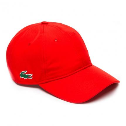 Tenisová kšiltovka Lacoste Basecap, red