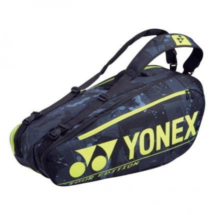 Taška na rakety Yonex 92026, black/yellow