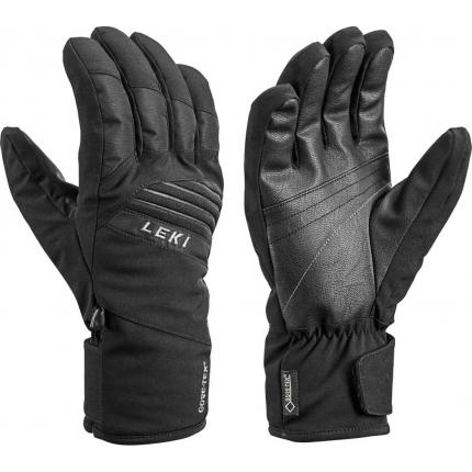 Lyžařské rukavice Leki Space GTX black, 2020/21