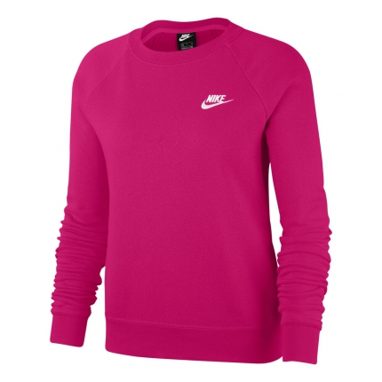Dámská mikina Nike Sportswear Essential Sweatshirt, pink