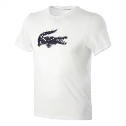 Pánské tričko Lacoste T-Shirt, white/navy