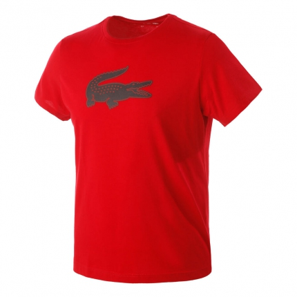 Pánské tričko Lacoste T-Shirt, red