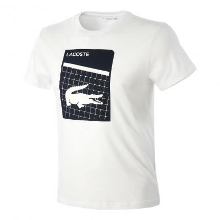 Pánské tričko Lacoste T-Shirt, white