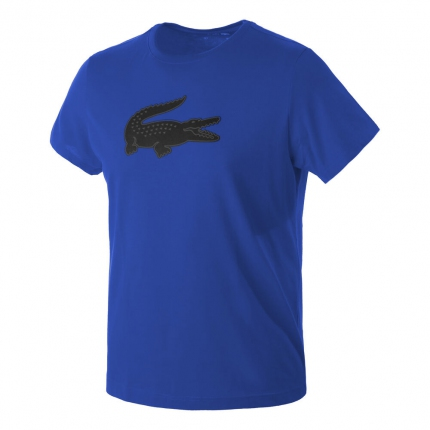 Pánské tričko Lacoste T-Shirt, blue