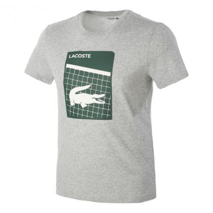 Pánské tričko Lacoste T-Shirt, light grey