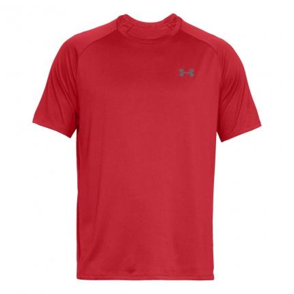 Pánské tričko Under Armour Tech Shortsleeve Tee, red