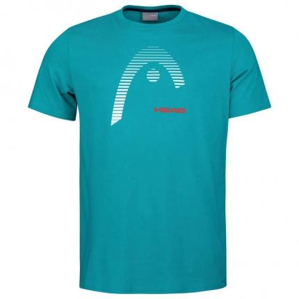 Pánské tenisové tričko Head Club Carl, turq