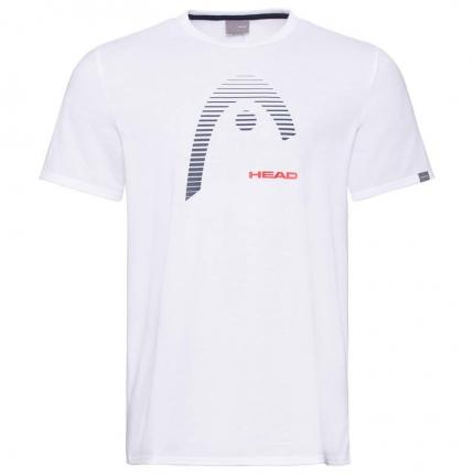 Pánské tenisové tričko Head Club Carl, white