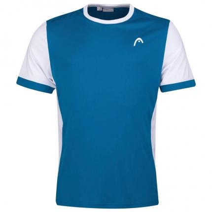 Pánské tenisové tričko Head Davies T-Shirt, blue/white