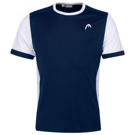 Pánské tenisové tričko Head Davies T-Shirt, dark blue/white