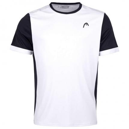 Pánské tenisové tričko Head Davies T-Shirt, white/black