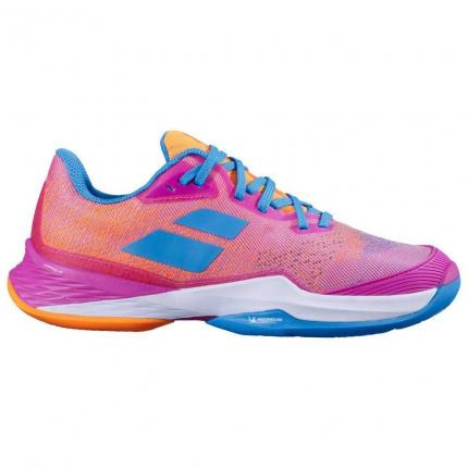 Dámská tenisová obuv Babolat Jet Mach 3 Clay Women, hot pink