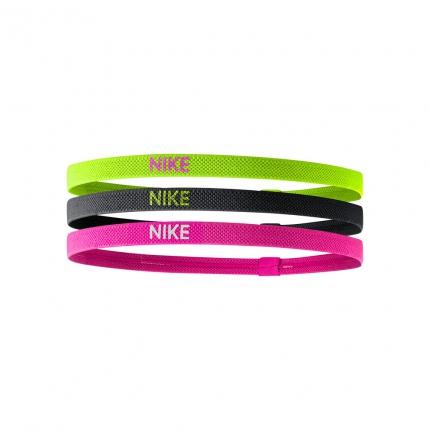Tenisové čelenky Nike Elastic Hairbands 3er, mix