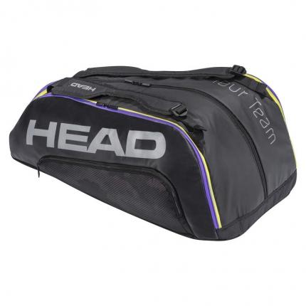 Tenisová taška Head Tour Team 12R Monstercombi 2021, black/mixed
