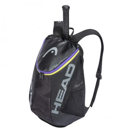 Tenisový batoh Head Tour Team Backpack 2021, black/mixed