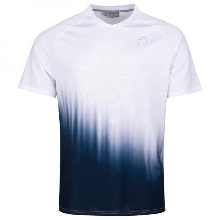 Pánské tenisové tričko Head Performance T-Shirt, white/print perf
