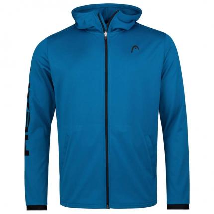 Pánská tenisová mikina Head Breaker Hoodie FZ, blue