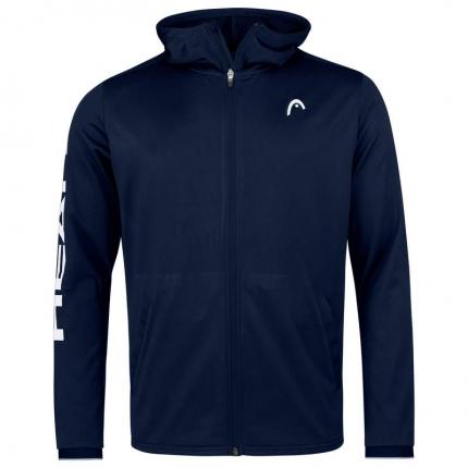 Pánská tenisová mikina Head Breaker Hoodie FZ, dark blue