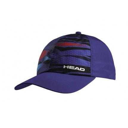 Tenisová kšiltovka Head Light Function Cap, blue/navy