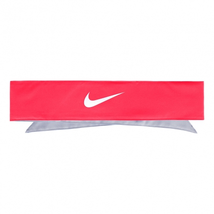 Tenisový šátek Nike Promo Bandana, laser crimson