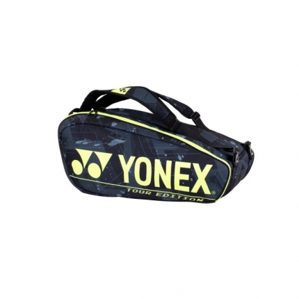 Taška na rakety Yonex 92029, black/yellow