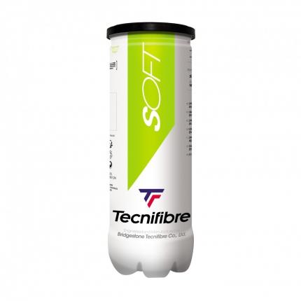 Dětské tréninkové míče Tecnifibre Mini Tennis Soft, 3 ks