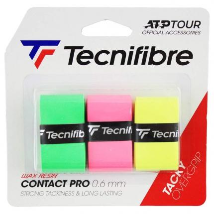 Omotávky Tecnifibre ATP Pro Contact 3 ks, mix