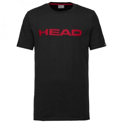 Pánské tričko Head Club Ivan T-Shirt, black/red
