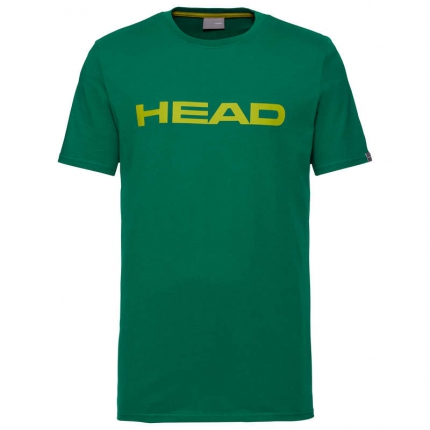 Pánské tričko Head Club Ivan T-Shirt, green/yellow