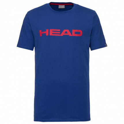 Pánské tričko Head Club Ivan T-Shirt, royal blue/red