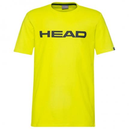 Pánské tričko Head Club Ivan T-Shirt, yellow/dark blue