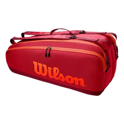 Tenisová taška Wilson Tour 6 Pack, maroon
