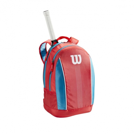 Dětský tenisový batoh Wilson Junior Backpack, coral